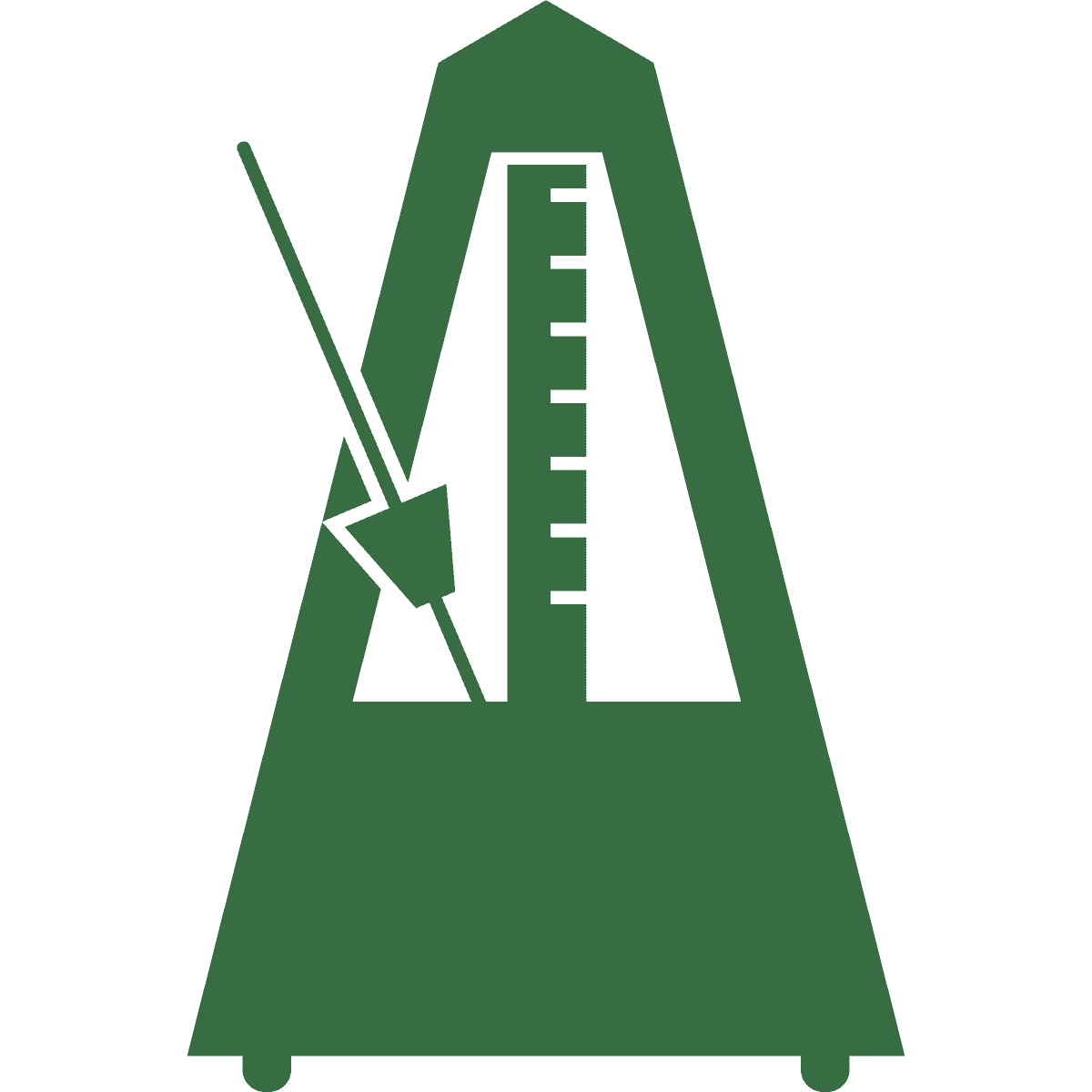 Green scale icon