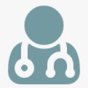 Light blue physician avatar icon