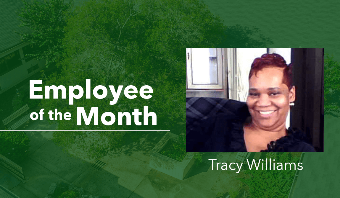 Tracy Williams Woodland Ridge Employee of the Month Blog
