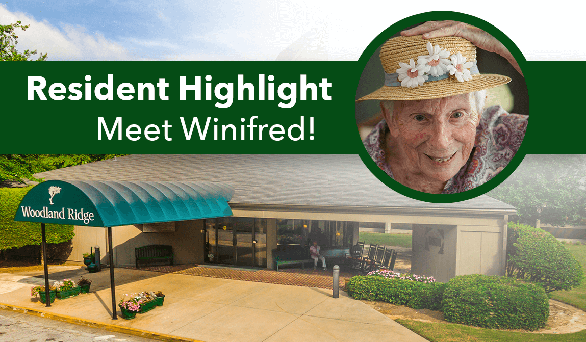 Woodland Ridge Winifred Resident of the Month