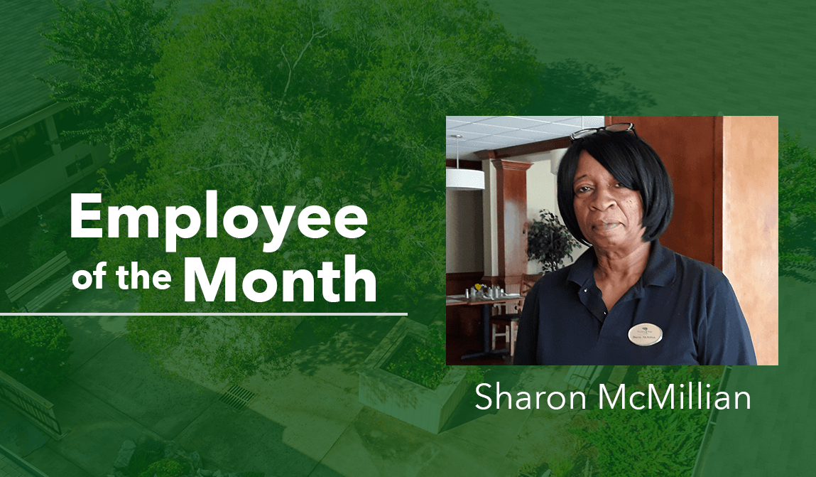 Sharon McMillian Woodland Ridge Employee of the Month Blog