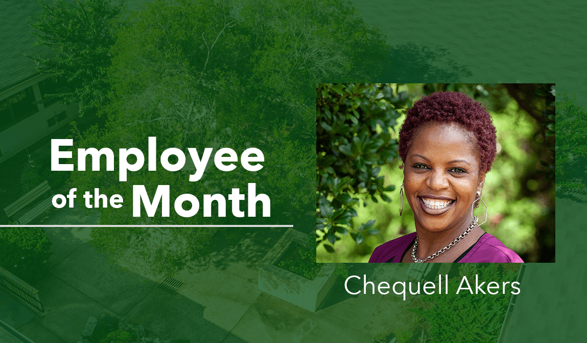 Woodland Ridge's Employee of the Month of September - Chequell