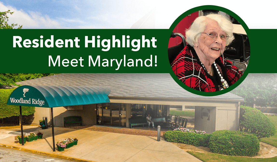 Woodland Ridge Resident of the Month of September - Maryland