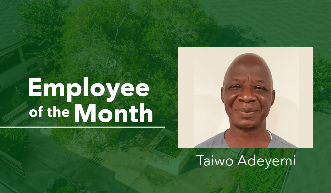 woodland ridge assisted living employee of the month