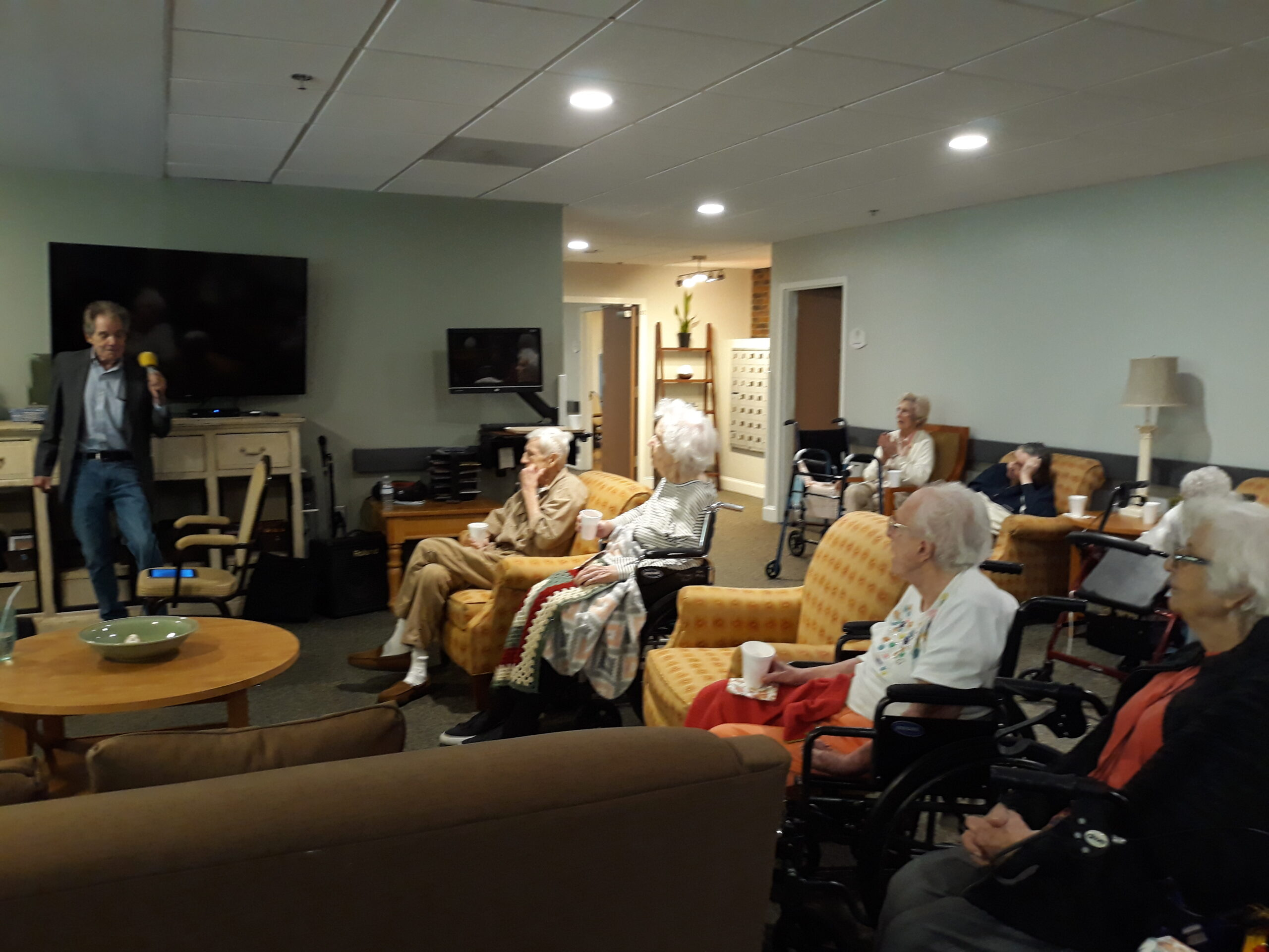 Elderly Care Smyrna GA - Entertainment!