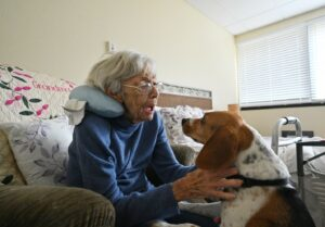 Senior Care Smyrna GA - Woodland Ridge Residents Take AJC Front Page